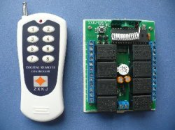 8 channel remote control
