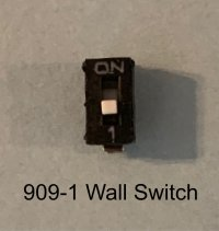 single miniature wall switch (pk 5)