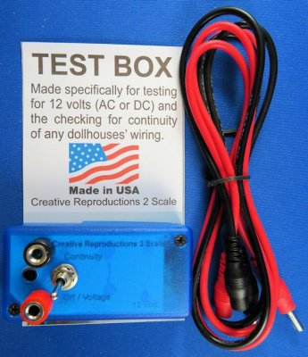 Incredible Electrical Test Box 1104 45 00 Creative Reproductions 2 Scale Wiring 101 Ferenstreekradiomeanderfmnl