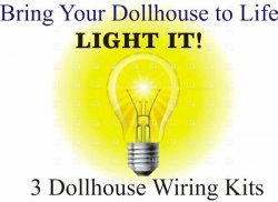 Dollhouse wiring kits