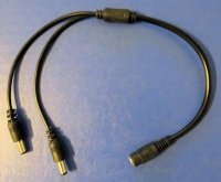 1 to 2 splitter cord