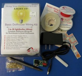 Basic Complete Dollhouse Wiring Kit