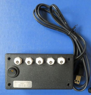 power supply box for light bar