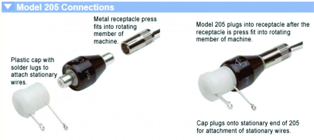 Mercotac 2 connector swivel - Click Image to Close