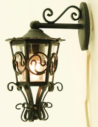 Ornate Carriage Lamp