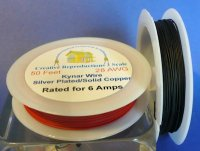Kynar Black, 50' hook-up wire