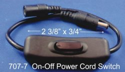 On/Off Power Cord Switch