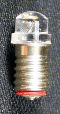 Screwbase Peabulb LED replacement bulb (10/pk)