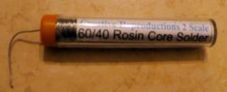 60/40 Rosin core, .8 mm solder tube